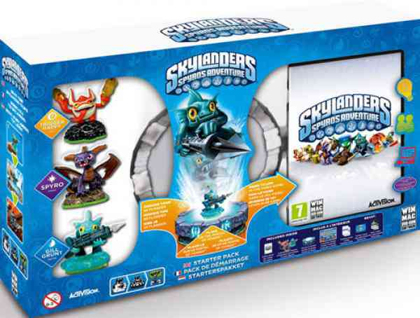 Skylanders Spyros Adventure Pack De Inicio Pc
