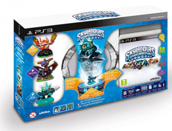 Skylanders Spyros Adventure Pack De Inicio Ps3