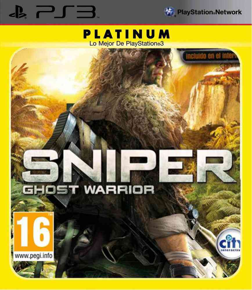 Sniper Ghost Warrior Platinum Ps3