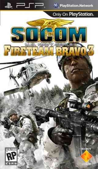 Socom Fire Team Bravo 3 Psp