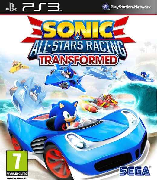 Sonic  All-stars Racing Transformed Limited Ps3