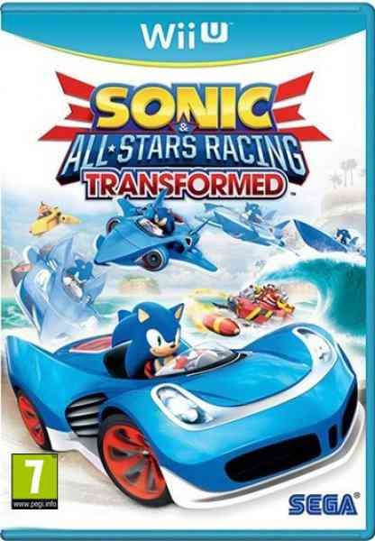 Sonic  All-stars Racing Transformed Limited Wii U