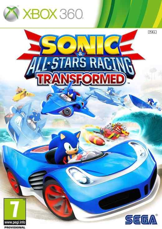 Sonic  All-stars Racing Transformed Limited X360