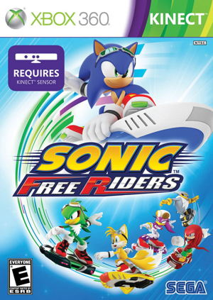 Sonic Free Riders X360 Kinect