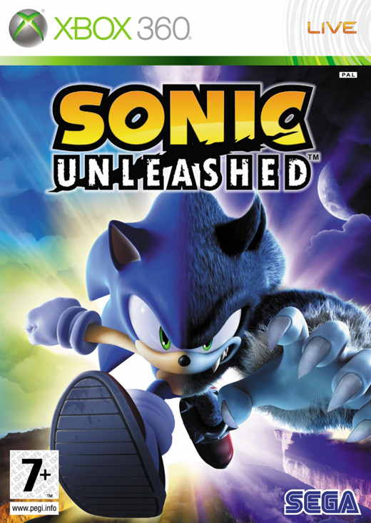 Sonic Unleashed X360