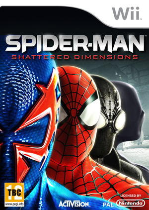 Spiderman Dimensions Wii