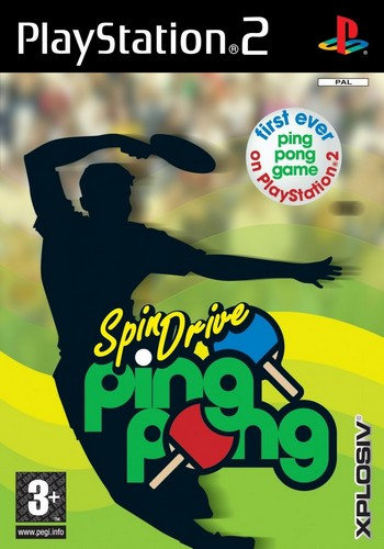 Spin Drive Ping Pong Ps2