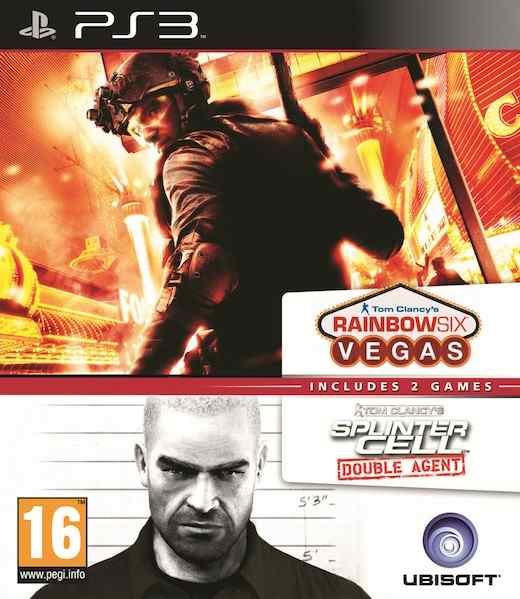Splinter Cell Double Agent  Rainbow Six Vegas Ps3