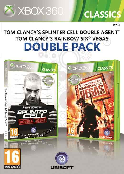 Ver SPLINTER CELL DOUBLE AGENT  RAINBOW SIX VEGAS X360