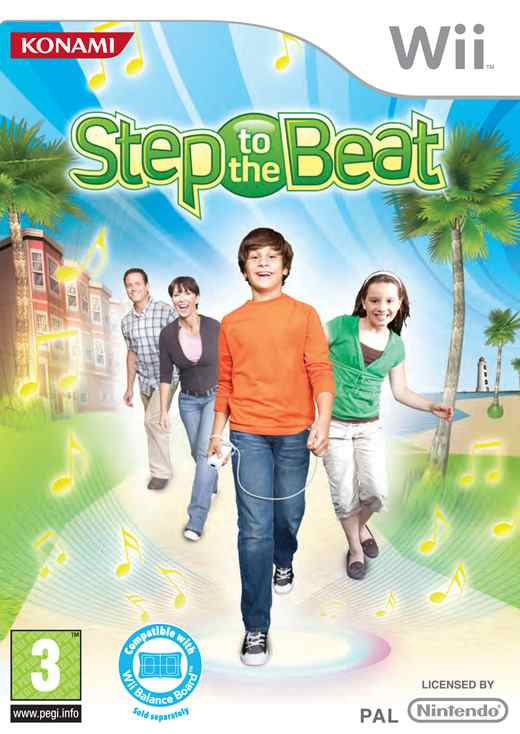 Step To The Beat Wii