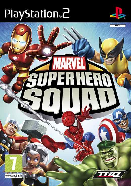 Super Hero Squad  Ps2