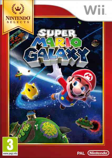 Ver SUPER MARIO GALAXY SELECTS WII