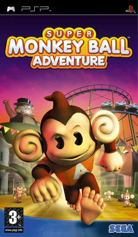 Ver SUPER MONKEY BALL ADVENTURE PSP