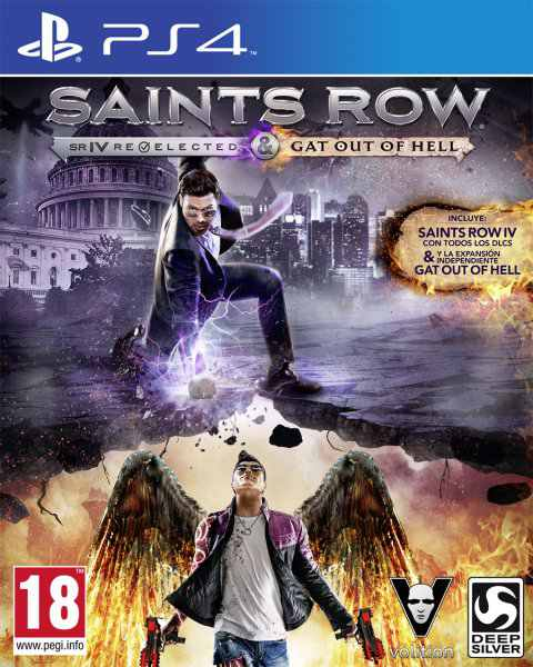 Ver Saints Row Iv Re Elected Gat Out Of Hell Ps4