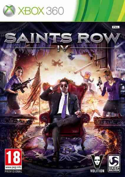 Saints Row Iv X360