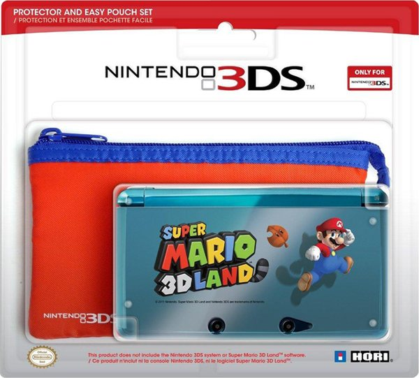 Set Protector   Bolsa Super Mario 3d Land 3ds