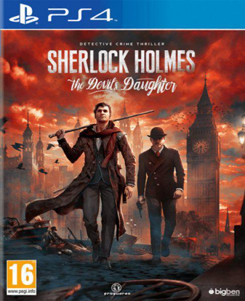 Ver Sherlock Holmes The DevilS Daughter Ps4
