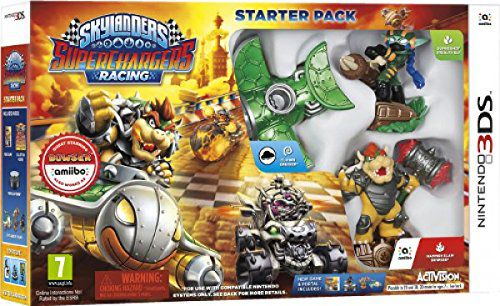 Ver Skylanders Superchargers Racing Starter Pack 3Ds