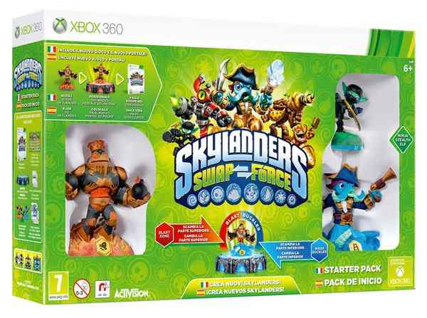 Skylanders Swap Force Starter Pack X360