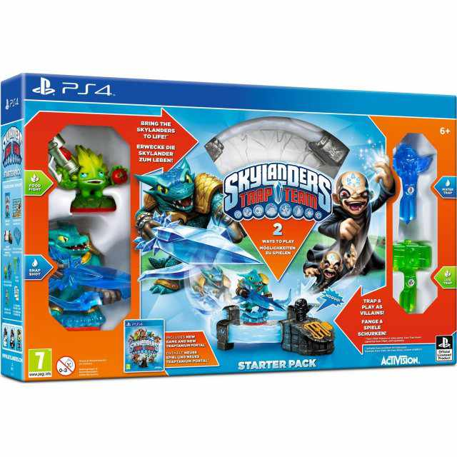 Ver Skylanders Trap Team Ps4