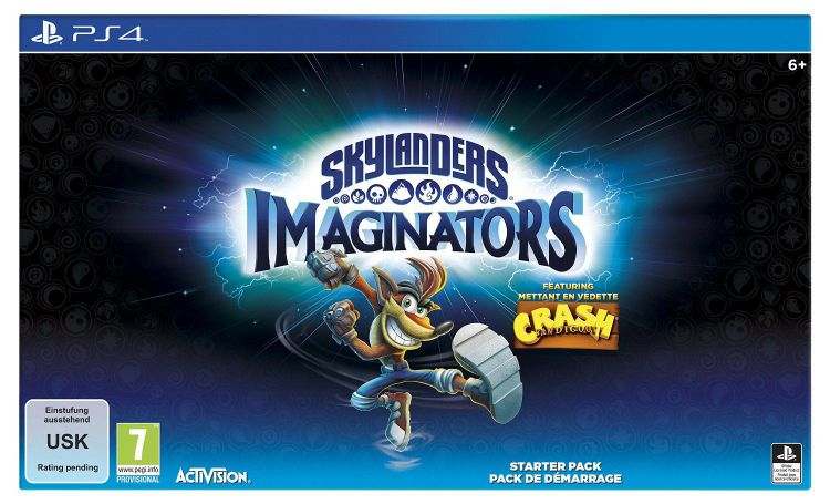 Ver Skylanders Imaginators Crash Edition Ps4