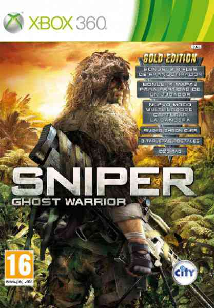Sniper Ghost Warrior Gold Edition X360