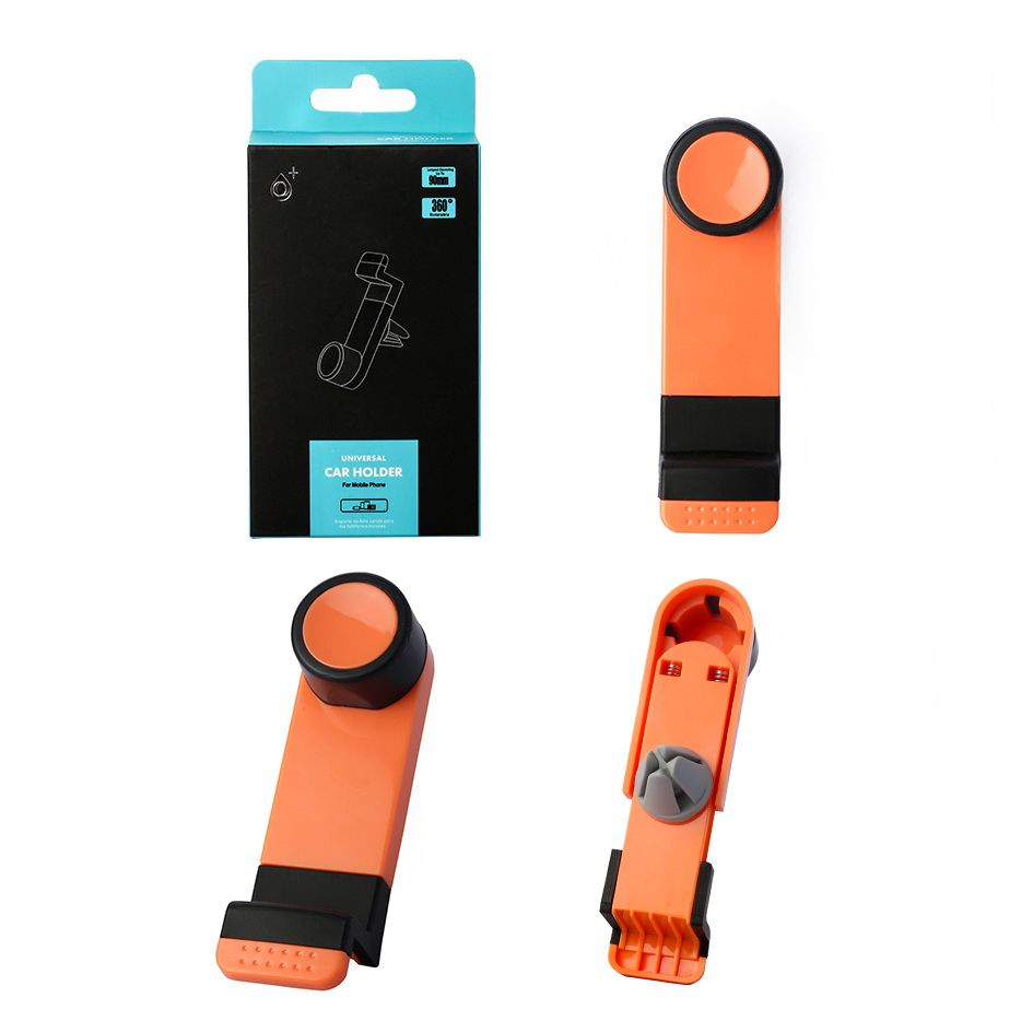 Soporte airvent universal para movil Naranja ONE PLUS