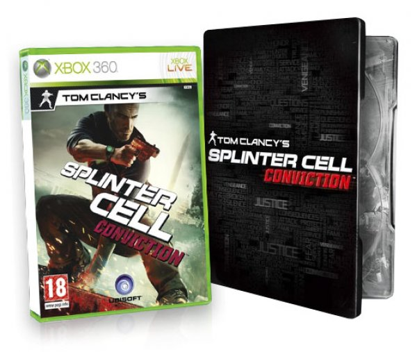 Splinter Cell Double Agent   Splinter Cell Conviction X360