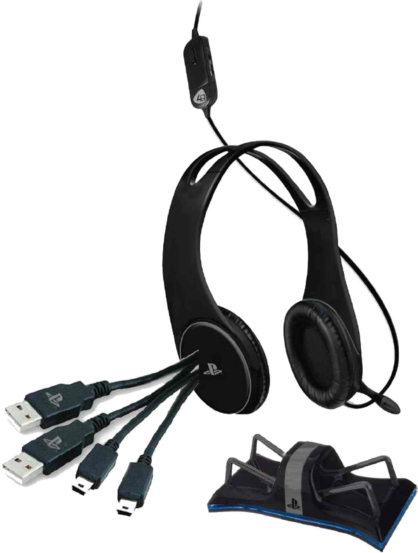 Stereo Gaming Headset Starter Kit PS4