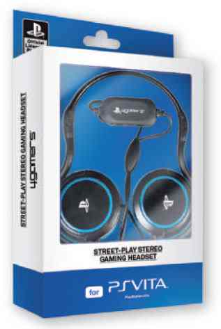 Street  Play Gaming Headset Ps Vita