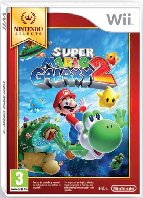 Ver Super Mario Galaxy 2 Selects Wii
