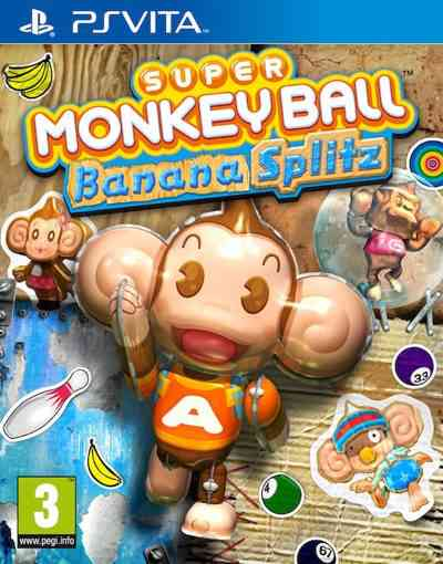 Super Monkey Ball Banana Splitz Psvita