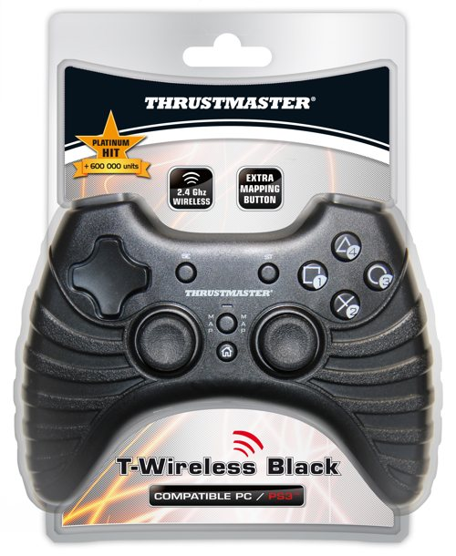 T-wireless Black Thrustmaster Ps3pc