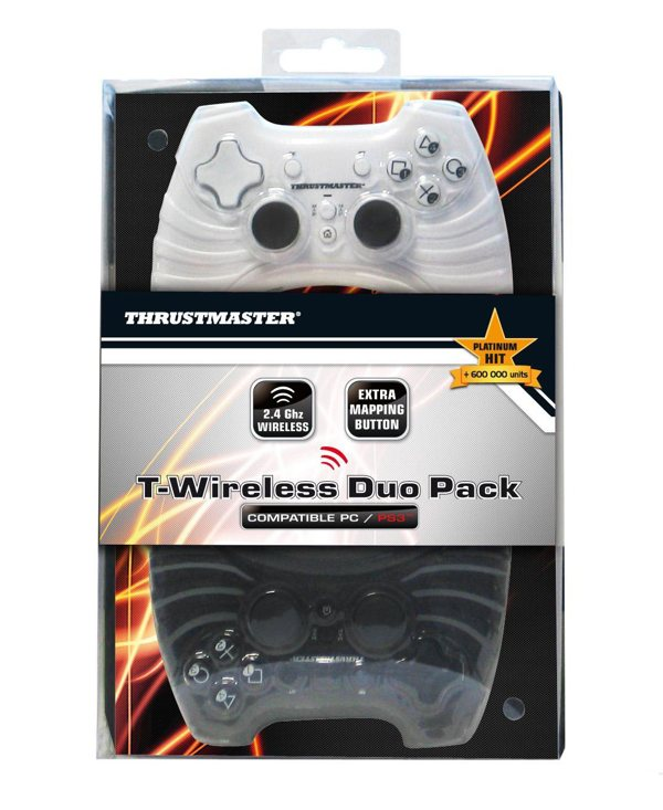 Ver T-Wireless Duo Pack Gamepad Ps3Pc