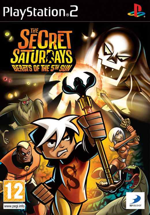Ver THE SECRET SATURDAYS PS2