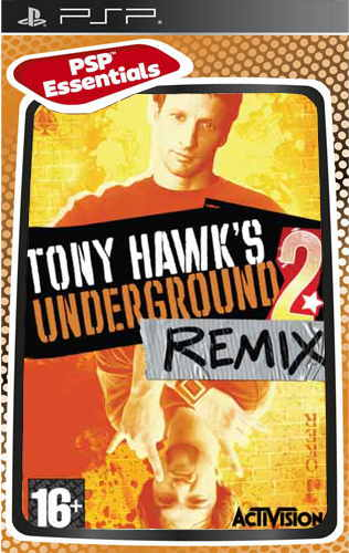 Tony Hawks Undergrond  Remix  Essentials Psp