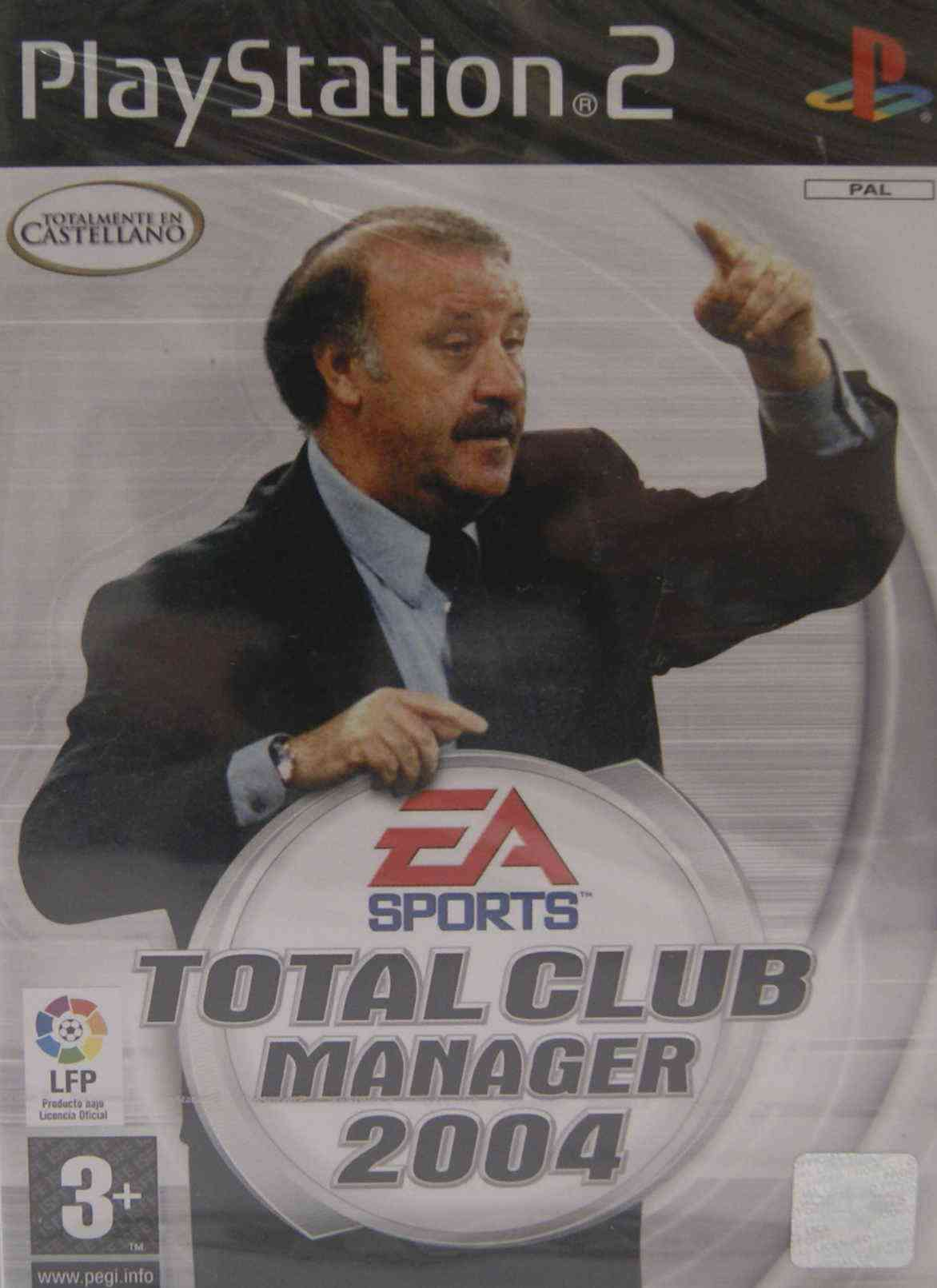 Total Club Manager 2004 Ps2