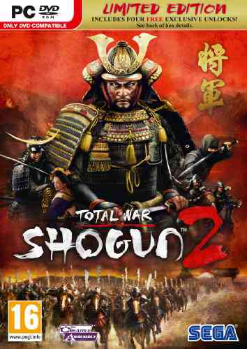 Total War Shogun 2 Edicion Limitada Lanzamiento Pc