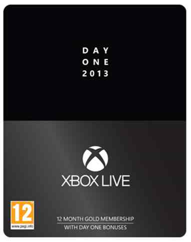 Tarjeta Xbox Live Gold 12 Meses Special Edit X360xbox One