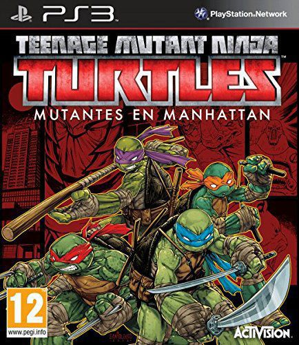 Ver Teenage Mutant Ninja Turtles Mutantes En Manhattan Ps3