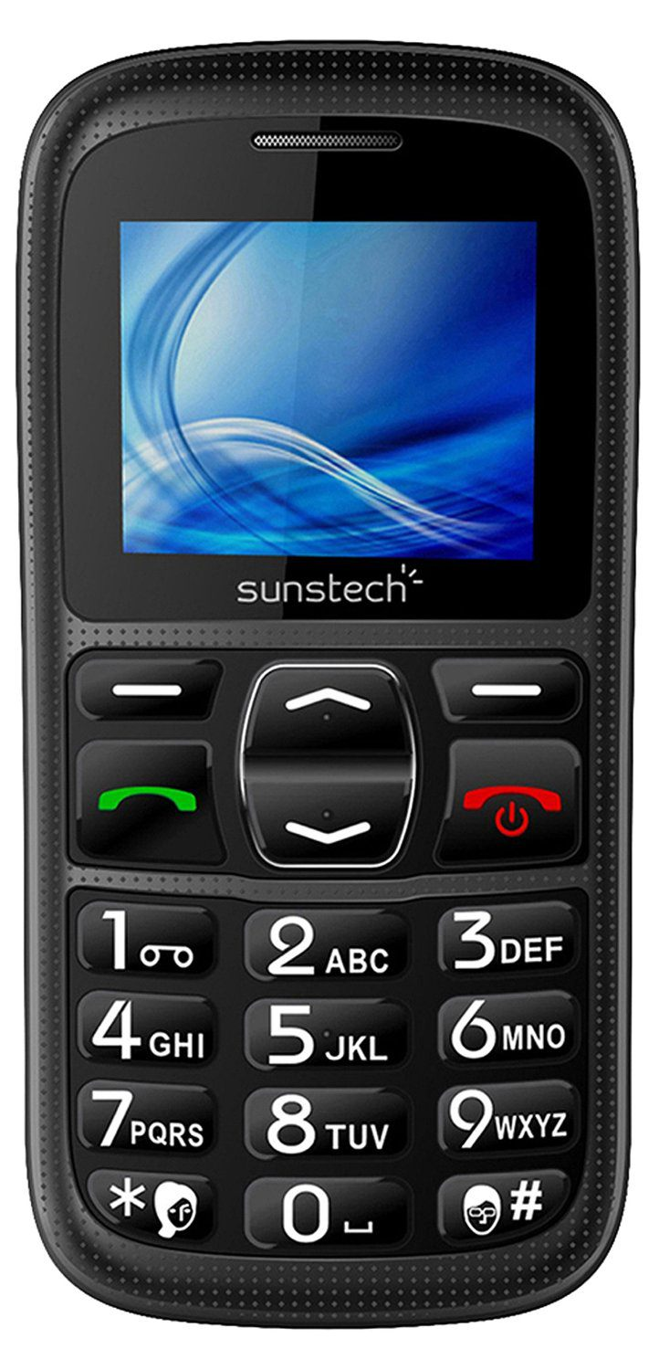 Ver Telefono Movil Sunstech CEL10 Negro