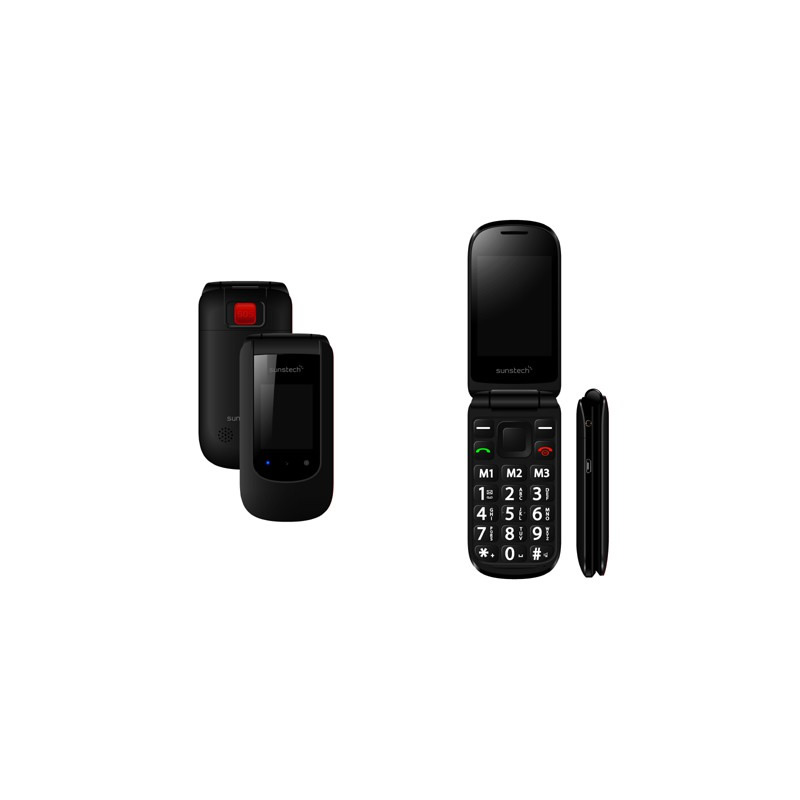 Telefono Movil Sunstech CELT20 Negro