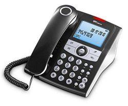 Telefono Sobremesa Elegance Id 3804n Spc Negro