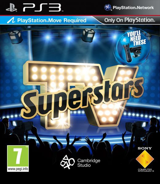 Ver Tv Superstars Juego Move Ps3
