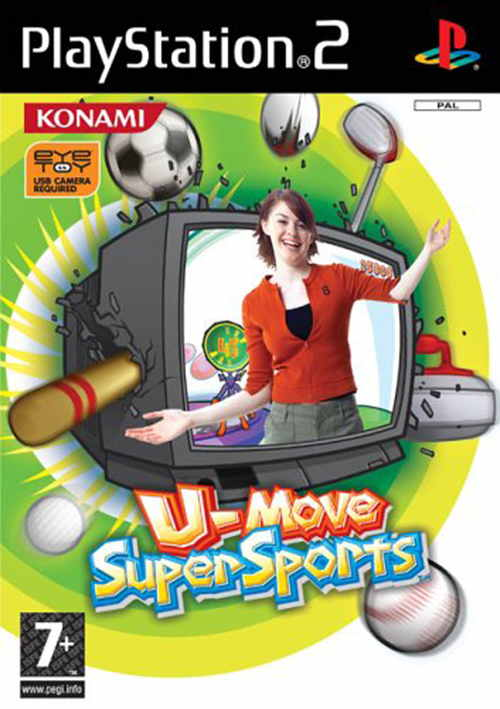 Ver U MOVE SUPER SPORTS-EYE TOY PS2