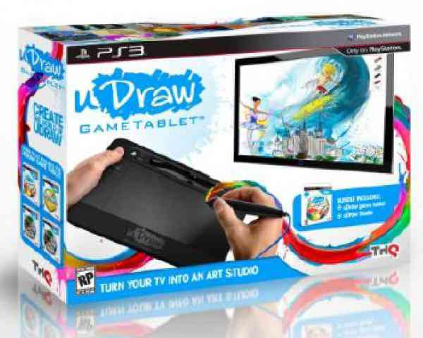 Udraw Studio Artista Al Instante Ps3 Tablet