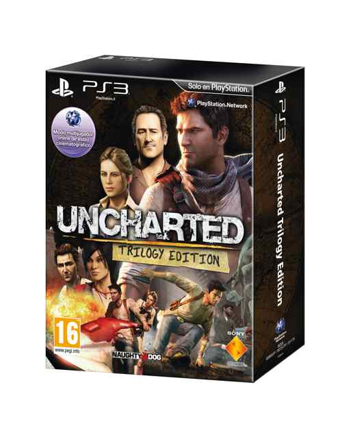 Uncharted Trilogy Edition Ps3