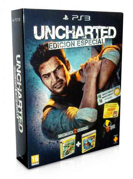 Uncharted 1  Uncharted 2 Ps3