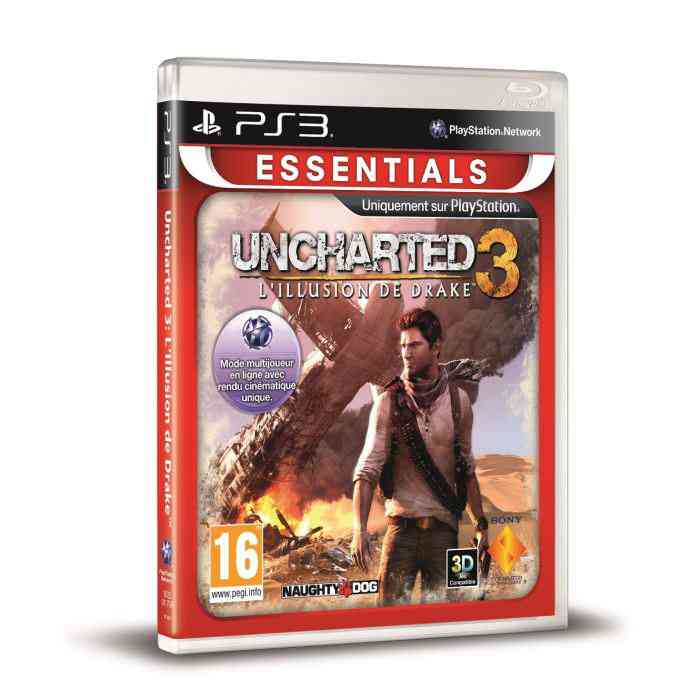 Uncharted 3 Essential Ps3