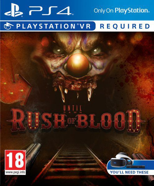 Ver Until Dawn Rush Of Blood PS4